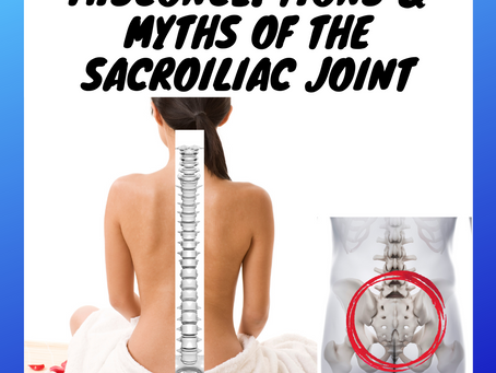 Why Does It Hurt By My Tailbone? - The Misconceptions & Myths Existing Around Sacroiliac Joint Pain