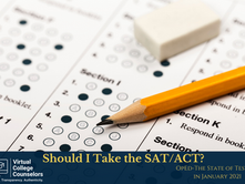 OpEd: Should I Take the SAT/ACT?