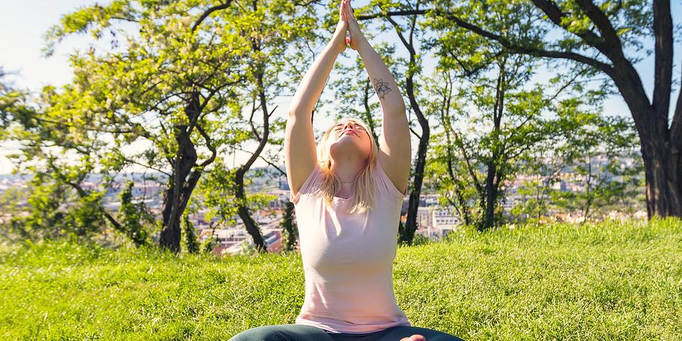 Pozdrav měsíci a jóga Nidra