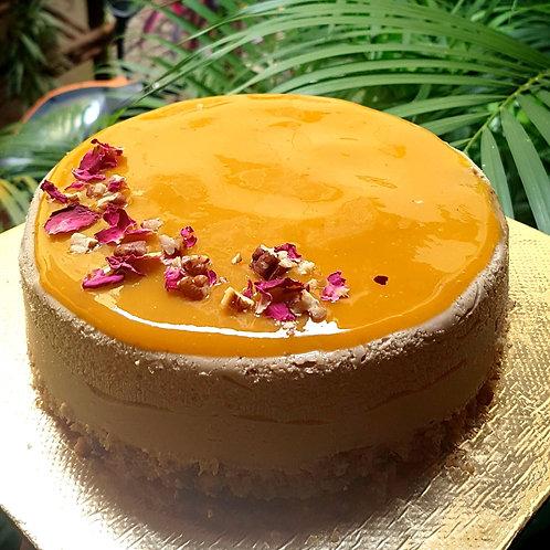 Classic Mango Cheesecake