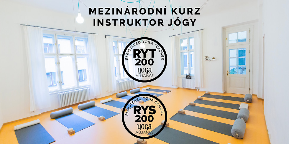 RYT200 - mezinárodní kurz instruktor jógy Yoga Alliance