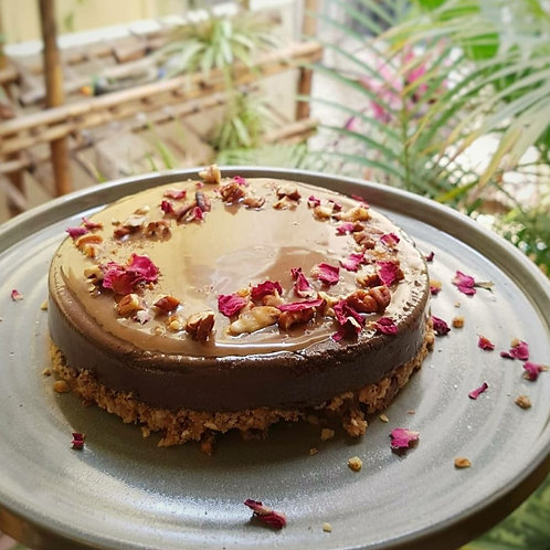 Chocolate Pudducake With Salted Caramel