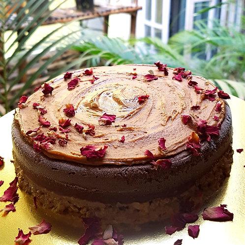 Chocolate Pudducake With Zvatra Peanut Butter