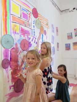 'Paolozzi' Group Painting