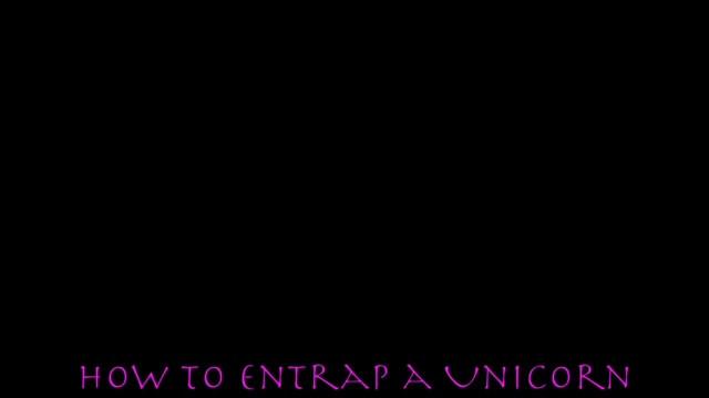 How to entrap a Unicorn by Georgia Hamer