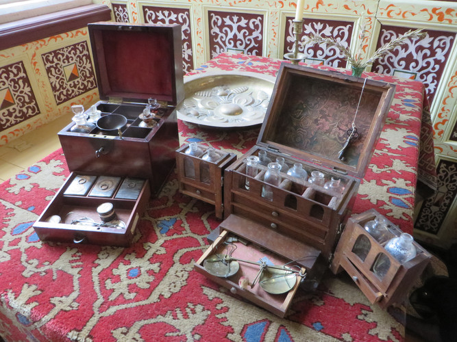 Apothecarists Boxes from the St Nicholas Priory collection