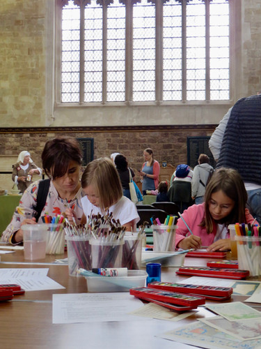 Re-Boot Drop-in Family Workshop at Exeter Cathedral