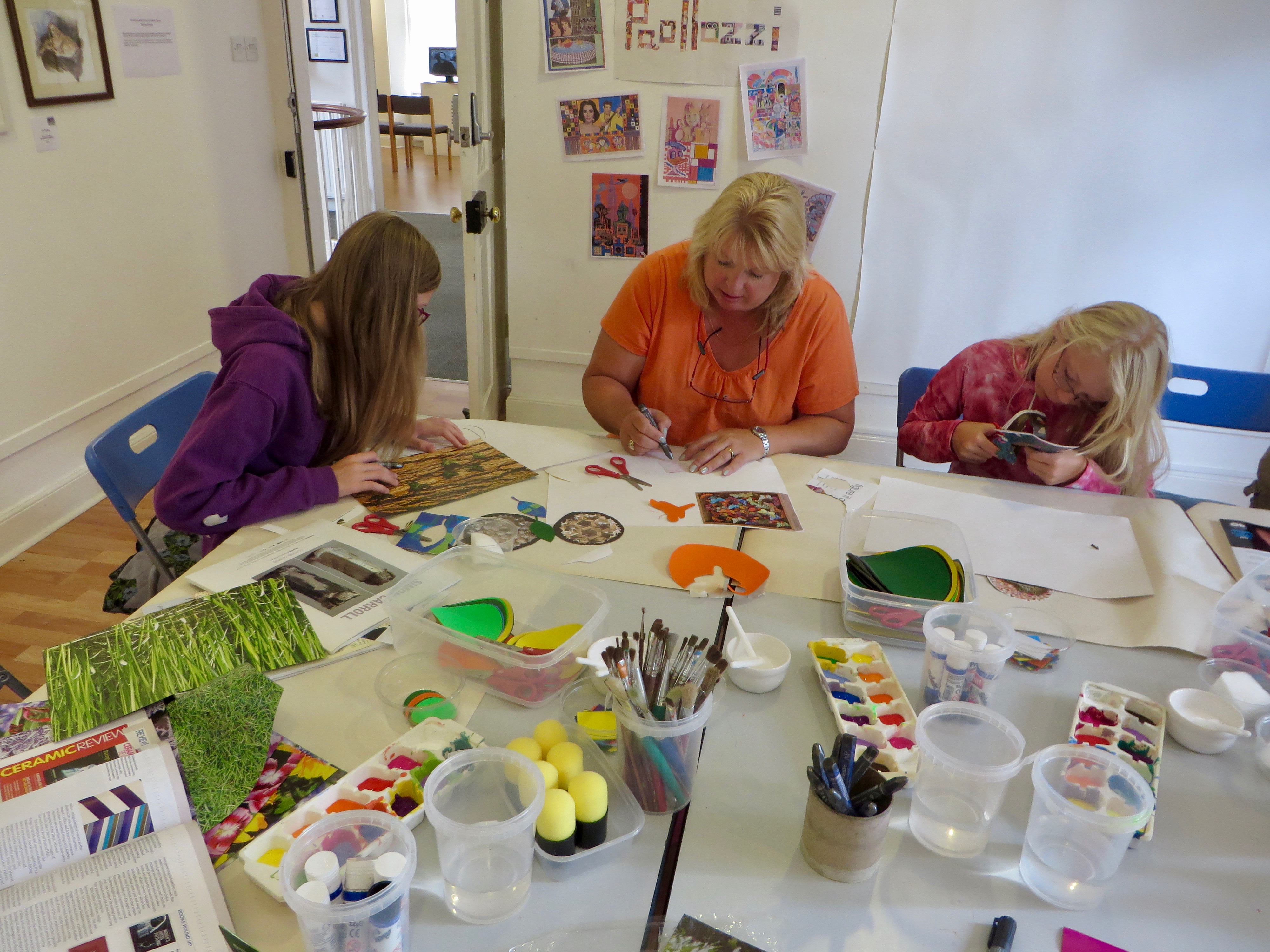 Paolozzi Collage Drop-in Workshop