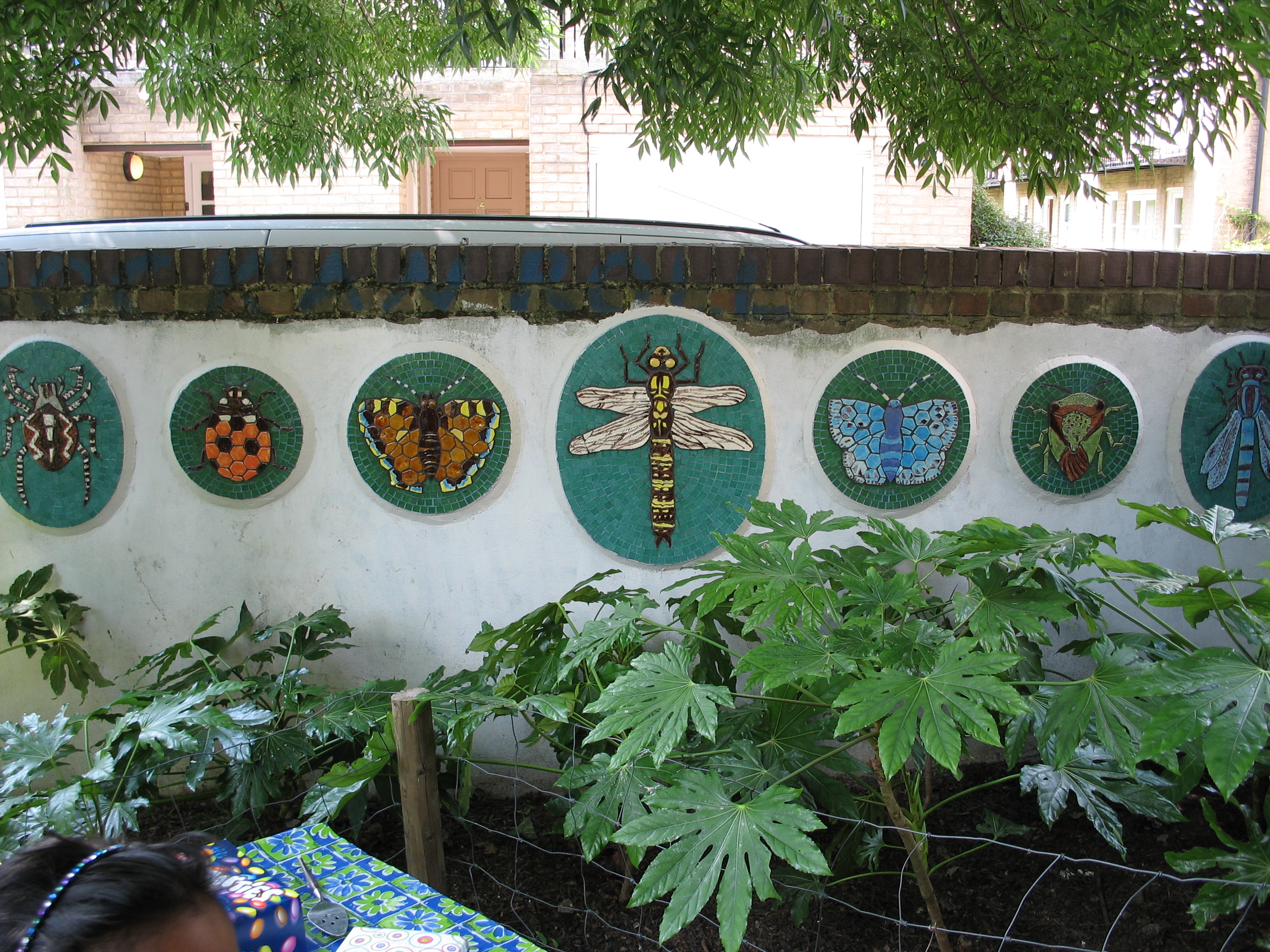 'Animal Park' Mosaic - Insects