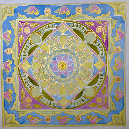 Silk Painting has become an annual event