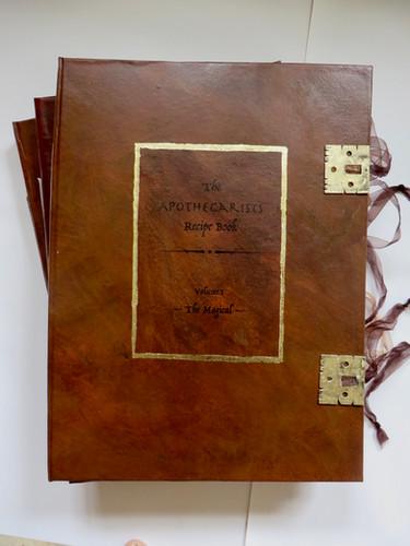The Apothecarists Recipe Books,Volumes I, II & III