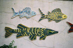 'Animal Park' Mosaic - Fish