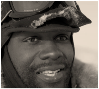 Dwayne Fields, first British mand to walk to the North Pole