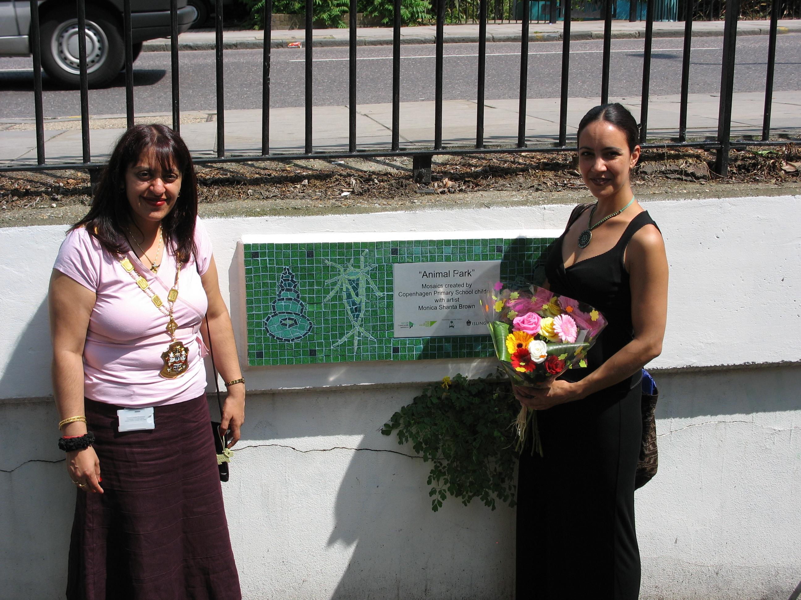 'Animal Park' Mosaic Opening