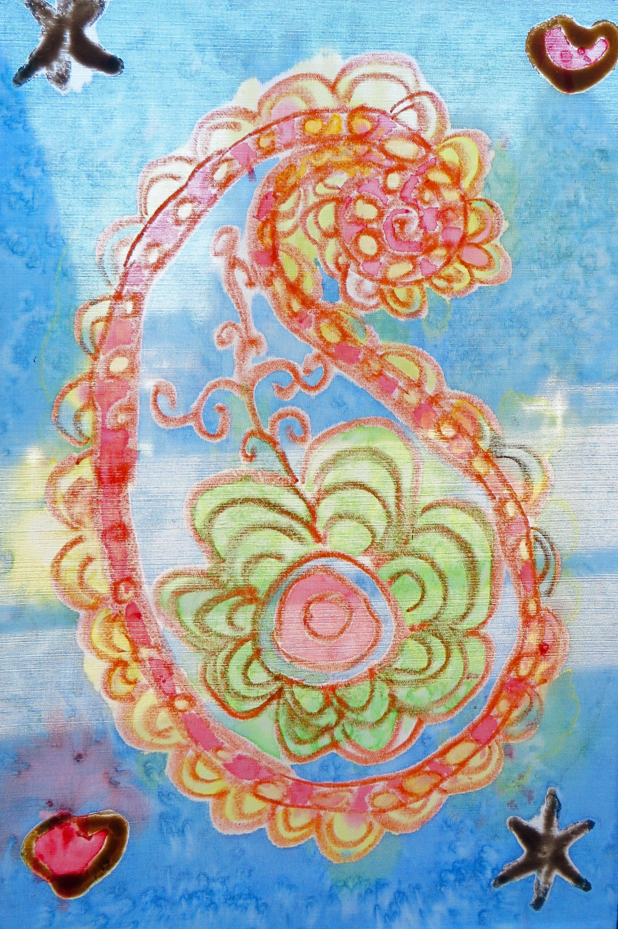 Individual Silk Painting