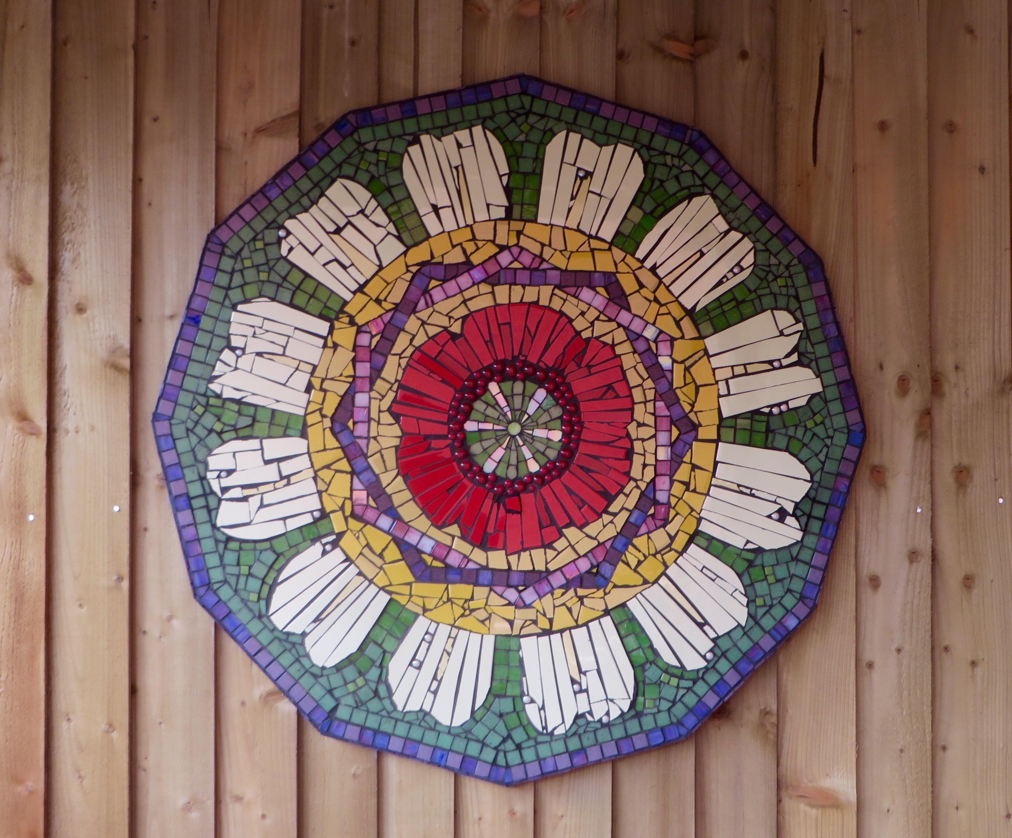 Topsham Primary School Garden Mosaic