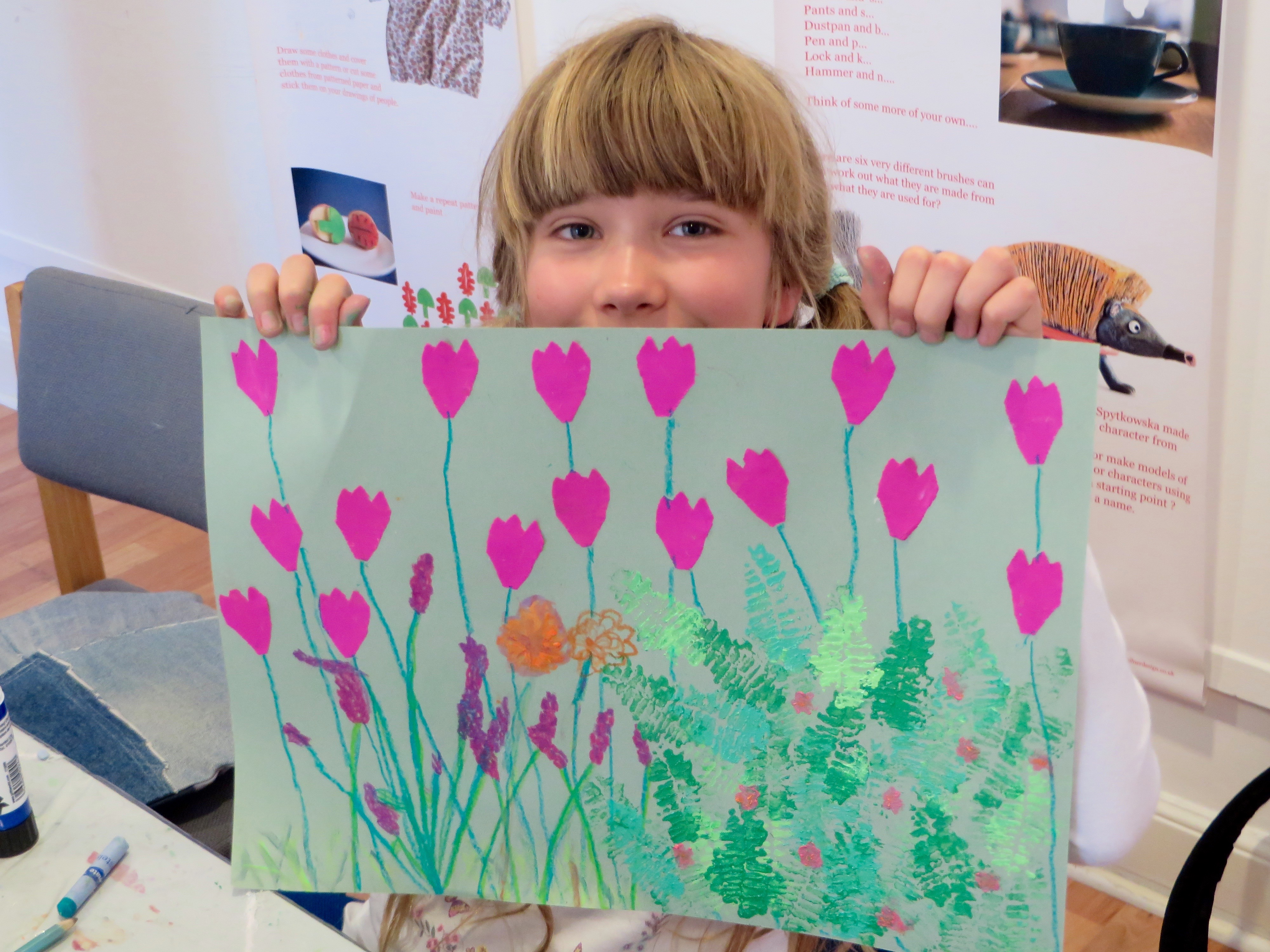 Wildflower Printmaking & Mixed-medi