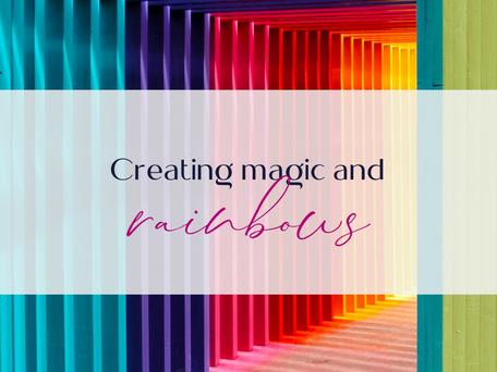 Creating MAGIC and rainbows using Dubsado