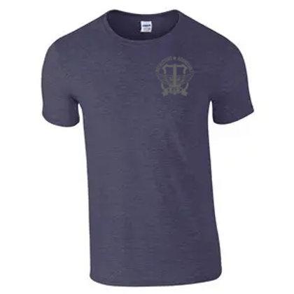 IRT Subdued Logo T-shirt - Heather Navy