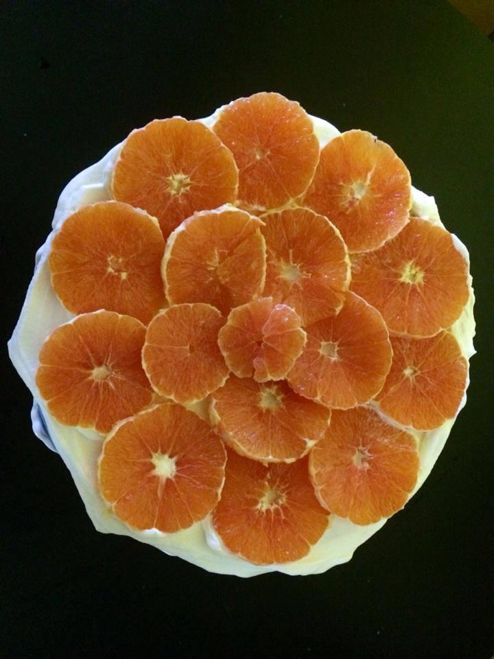 Blood Orange GF Quinoa Cake