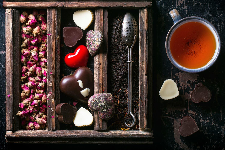 Organic Teas and Chocolates