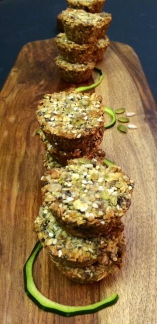 GF Seed Muffins