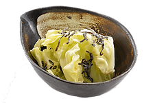 おつまみサラダ:うま塩きゃべつ:特製ニンニク塩ダレに塩昆布の旨み.png