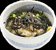 飯・〆:昆布と塩の胡麻風味茶漬け:昆布とごま油の風味がおいしい.png