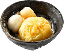 デザート:メープルきな粉アイス:メープルシロップときな粉の人気アイスて