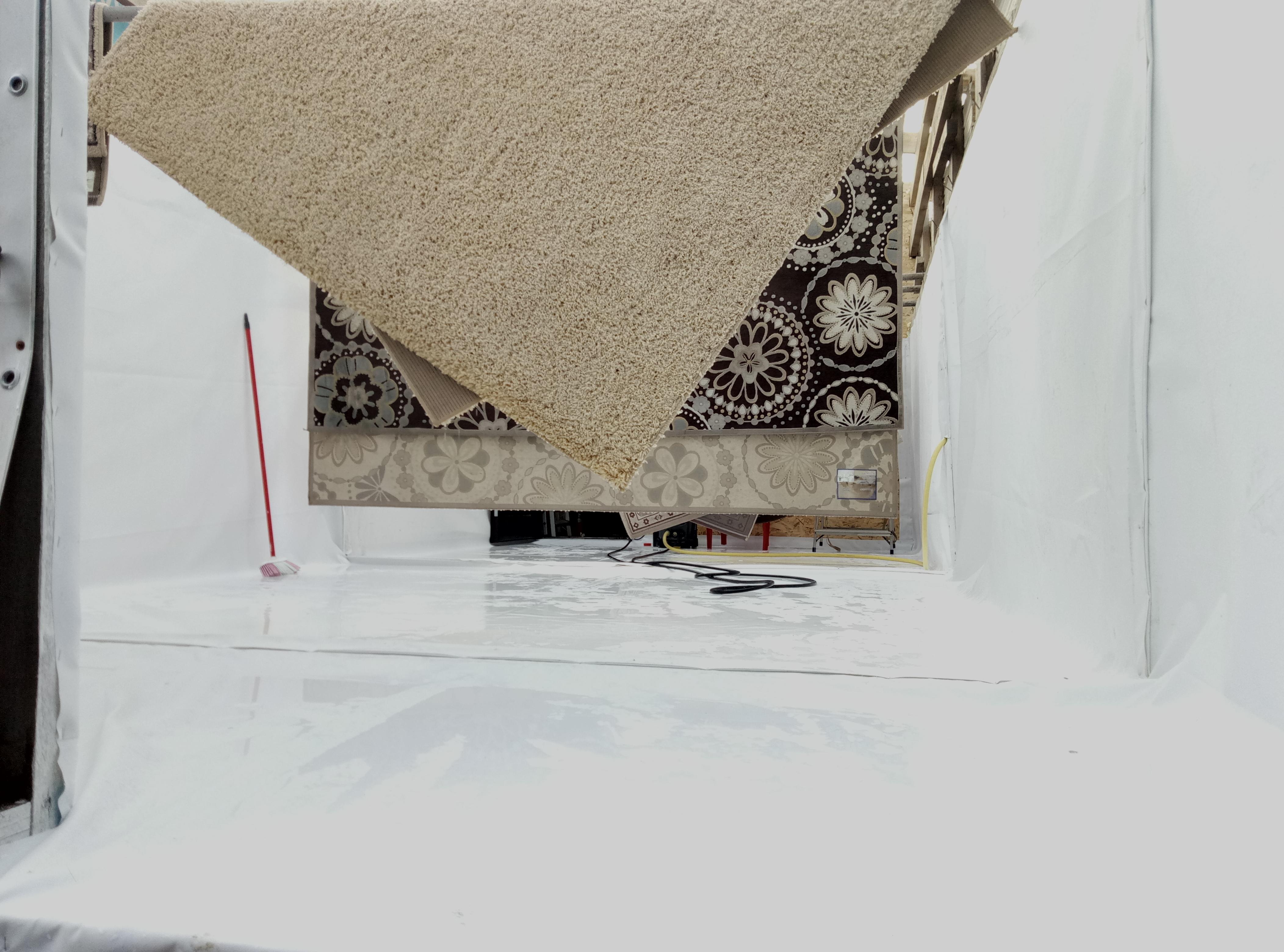 Стирка ковров - Наш цех
