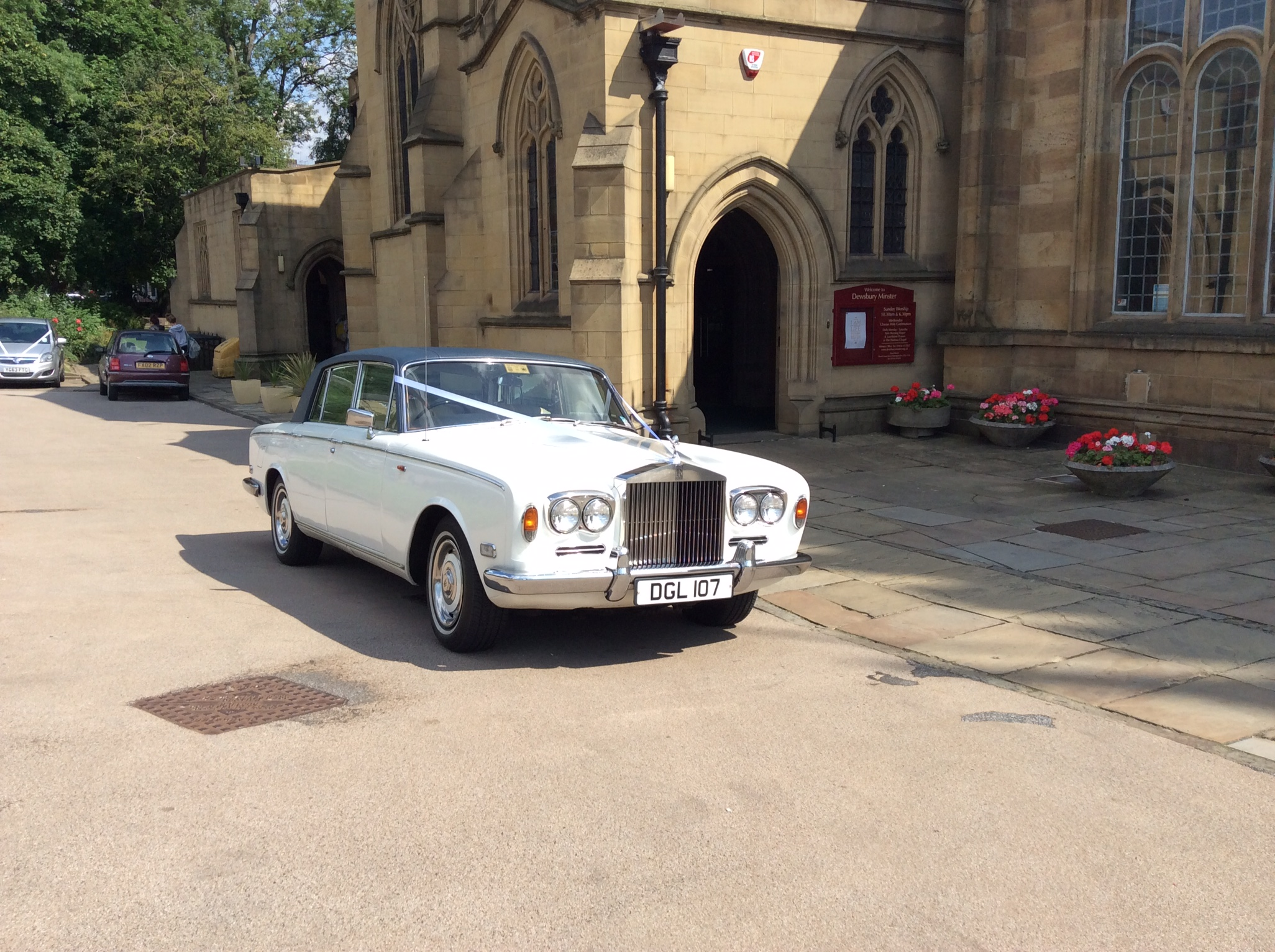 Wedding car hire Cleckheaton