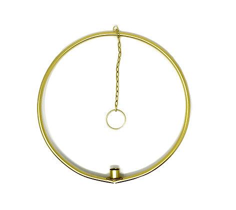 Kerzenhalter-Ring Voss Design Gold 35 cm
