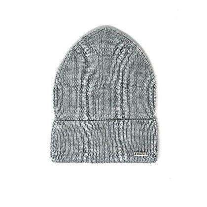 Mütze Schneefall Hellgrau