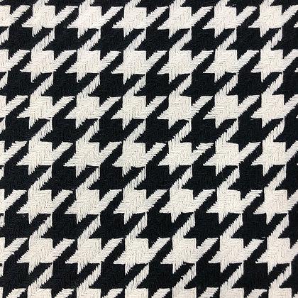 Hahnentritt Schwarz Weiß