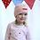 "Thumbnail: ""Kinder Langarm-T-Shirt mit Faltboot, rosa-gestreift"