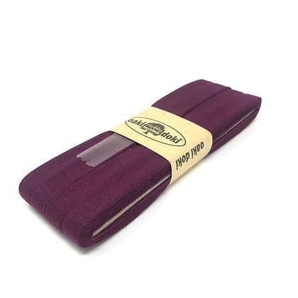 Schrägband 20 mm Burgunder