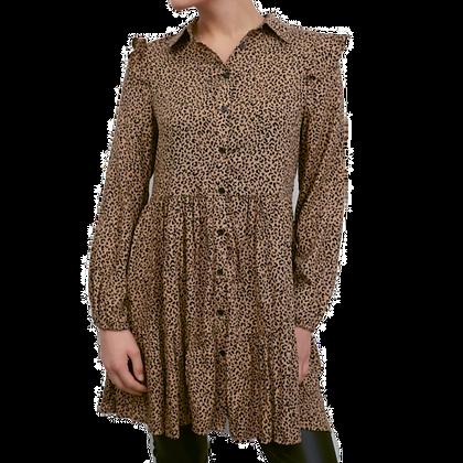 Tunika Kleid Leopard