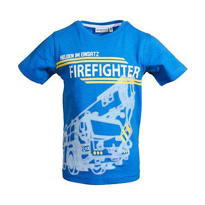 T-Shirt Feuerwehr cobalt blue