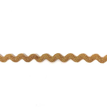 Zackenlitze 7 mm Bronze