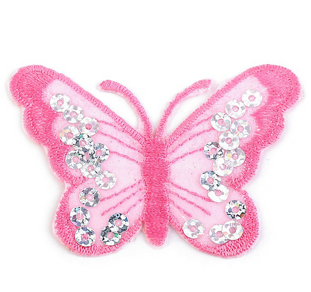 Schmetterling Applikation 2er Set