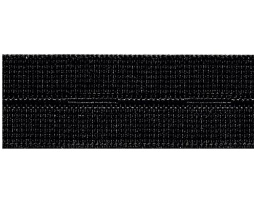 Knopfloch Elastic 18mm schwarz