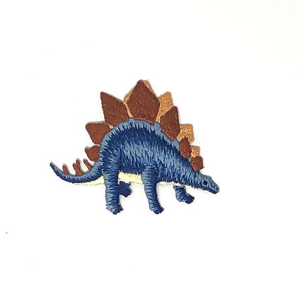 Applikation Dinosaurier Blau