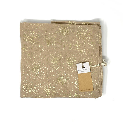 About Accessoires Tuch Beige Gold