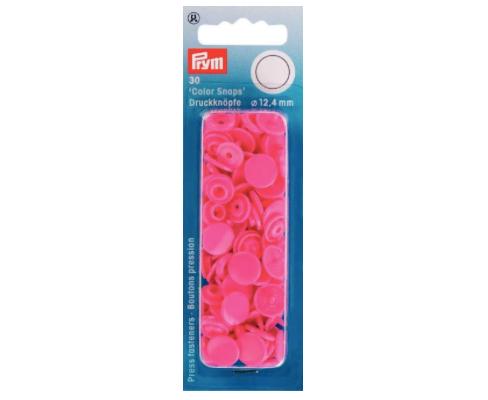 Prym NF Druckknopf Color Snaps rund 12,4mm Pink