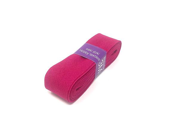 Schrägband 20 mm Pink