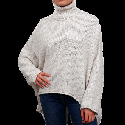Pullover Rollkragen Lucy Creme