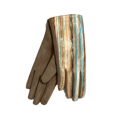 Handschuhe Golden Stripes