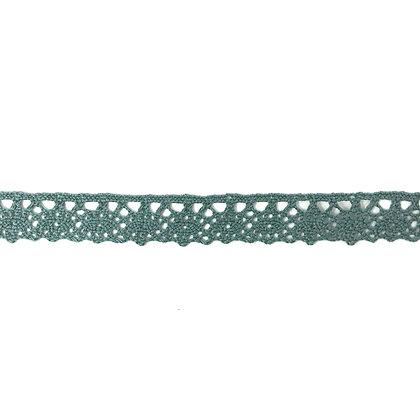 Häkelspitze 20 mm Grün