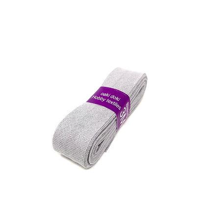 Schrägband 20 mm Hellgrau