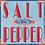 Thumbnail: Rock mit allover Pferde-Print Navy
